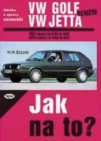 Kniha VW GOLF II/JETTA benzin /60 - 190 PS/ 9/83 - 6/92