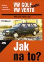 Kniha VW GOLF III / VENTO benzin /60 - 174 PS/ 9/91 - 12/98