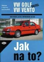 Kniha VW GOLF III / VENTO diesel /64/75 PS/ od 9/91 a VENTO od 2/92