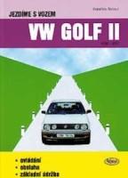 Kniha Jezdíme s vozem VW GOLF II /1983 - 1992/