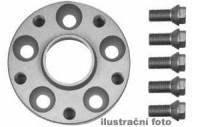 HR podložky pod kola (1pár) VW Polo 6KV rozteč 100mm 4 otvory stř.náboj 57,1mm -šířka 1podložky 25mm /sada obsahuje montážní materiál (šrouby, matice)