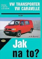 Kniha VW Transporter / Caravelle /84 - 110 PS a diesel/ od 9/90